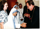 Fr. John Meets Mother Teresa
